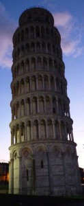 A Leaning Tower in Pisa